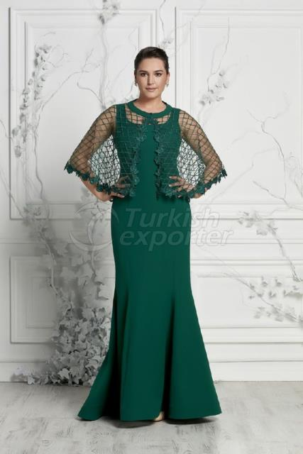 Plus Size Evening Dress Y7390