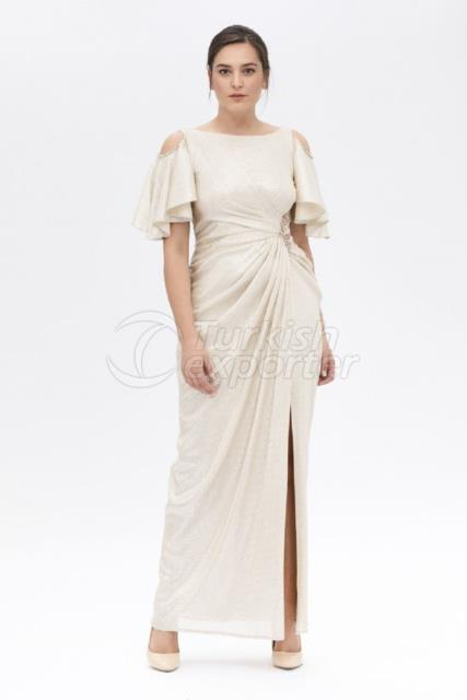 Plus Size Embroidered Evening Dress K7800