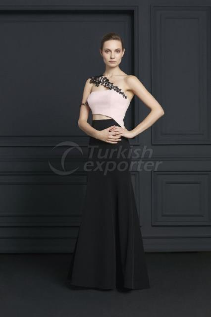 Small Size Evening Dress Y7494