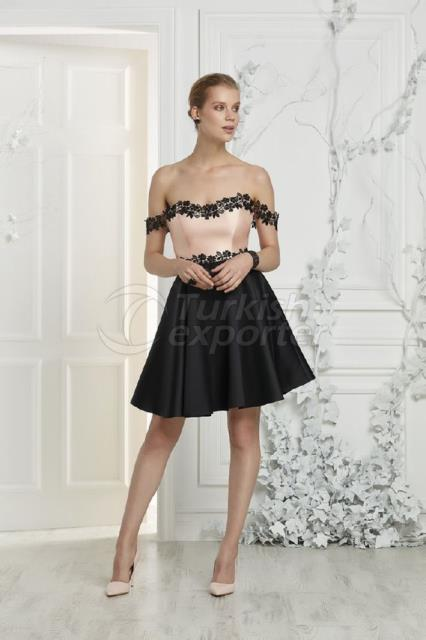 Small Size Evening Dress Y7493