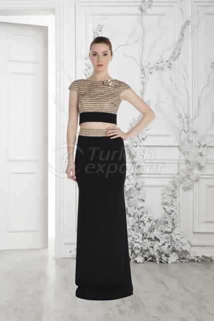 Small Size Evening Dress Y7028