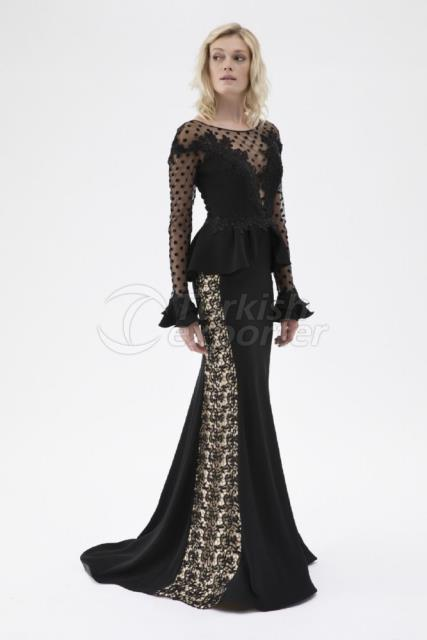 Small Size Evening Dress Y7607