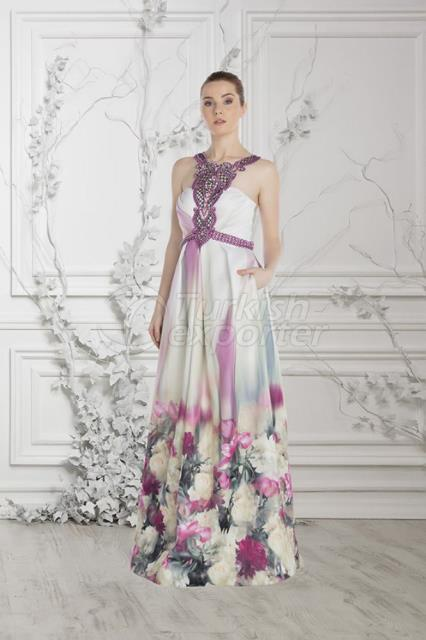 Small Size Evening Dress Y7541