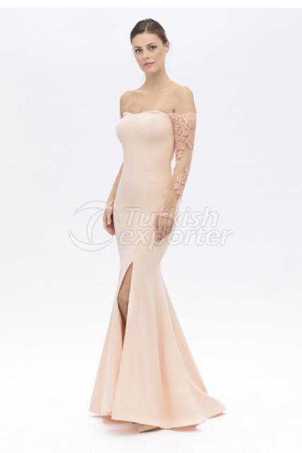 Small Size Evening Dress Y7404
