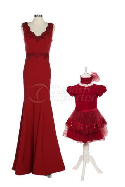 Mother and Daughter Dresses K6166