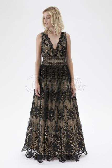 Small Size Evening Dress Y7651