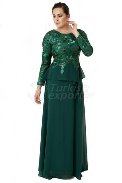 Small Size Evening Dress Y6403