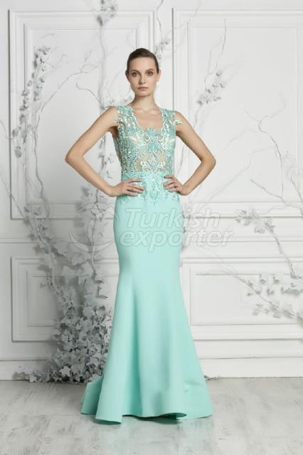 Small Size Evening Dress Y7414