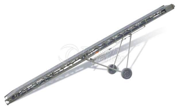 Flour screw conveyor