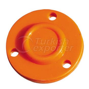 Filter diaphragm silicone