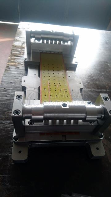 Printing Clishe Puching Machine Production