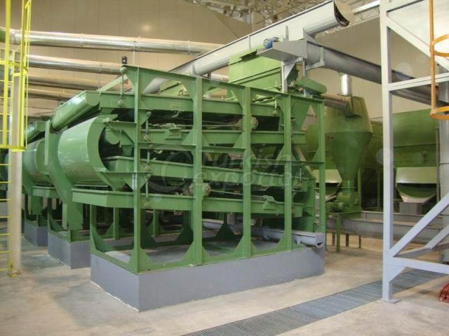 Four Tray Pneumatic Seed Cleaner