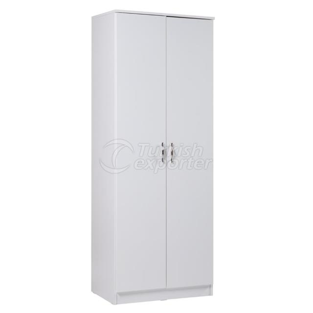 2 Door Cabinet with Drawer