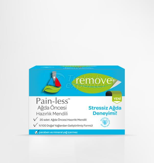 Pain-less Pre Wax Preparation Wipe