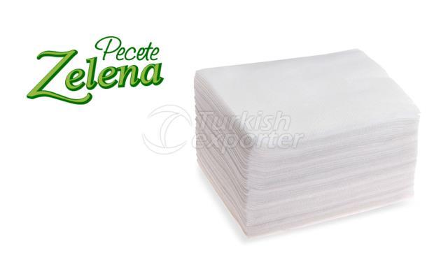 Table Paper Napkins Zelena