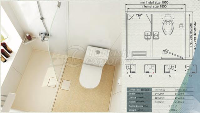 Unit Bathroom BH-1418