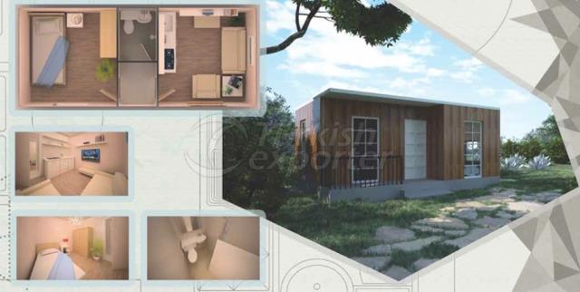 21m2 House Composite Container