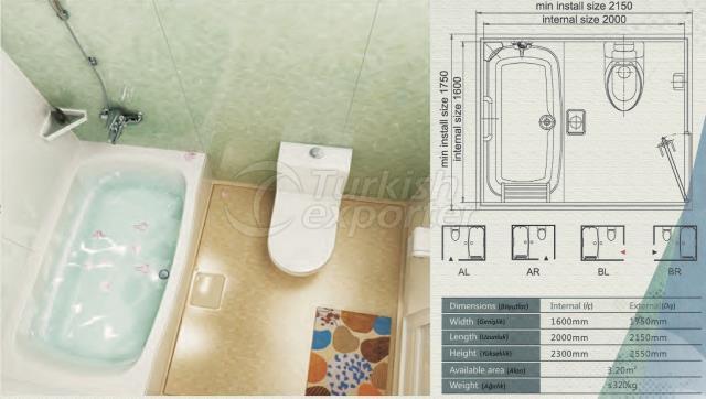 Unit Bathroom BH-1620