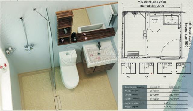 Unit Bathroom BW-1620