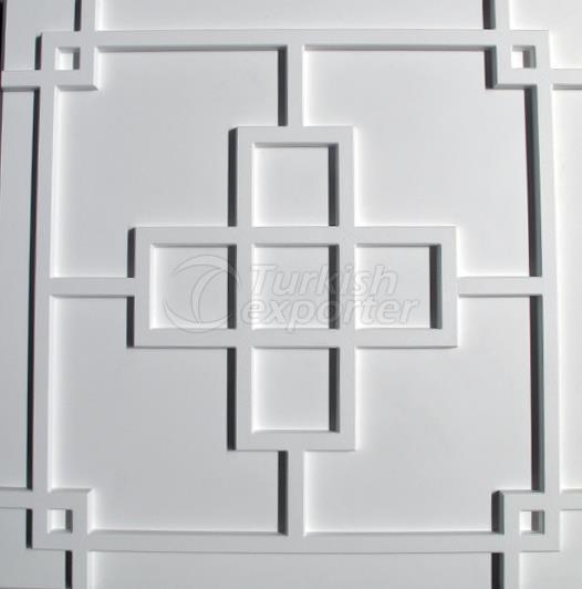 60.60005 3D Panel Snowflake