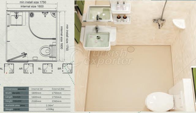 Unit Bathroom BM-1616