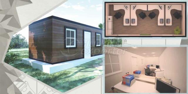 21m2 Office-1 Composite Container