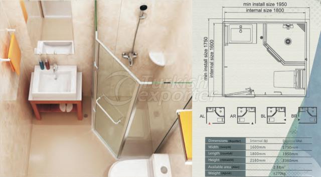 Unit Bathroom BM-1618