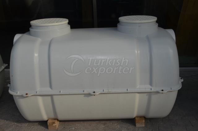 1.5 Ton Septic and Water Tank