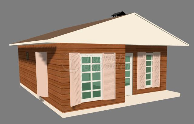 59,5m2 Composite House TheCottageH.