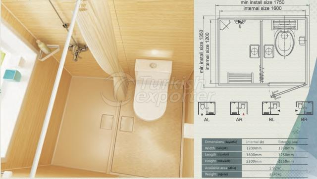 Unit Bathroom BH-1216