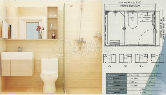Unit Bathroom BW-1420
