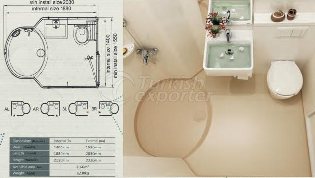 Unit Bathroom BM-1419