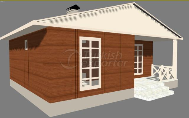 67,5m2 Composite House SoulOfWoods