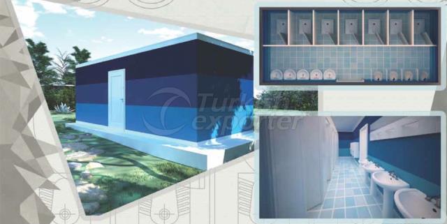 21m2 BathroomWc Composite Container