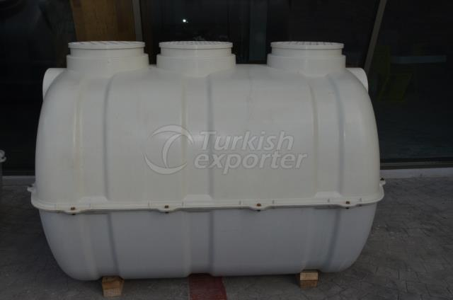 2 Ton Septic and Water Tank