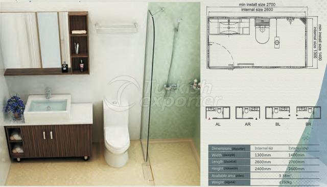 Unit Bathroom BW-1326