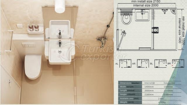 Unit Bathroom BM-1420