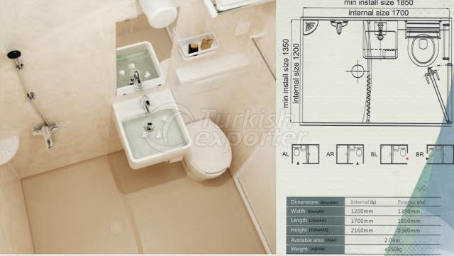Unit Bathroom BM-1217