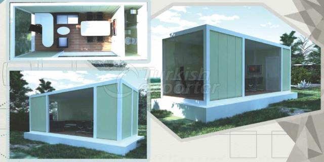 21m2 Office-2 Composite Container