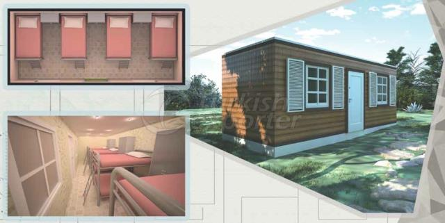 21m2 Bedroom Composite Container