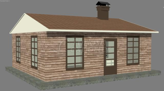 56m2 Composite House Peace of Wall