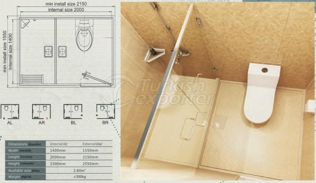 Unit Bathroom BH-1420