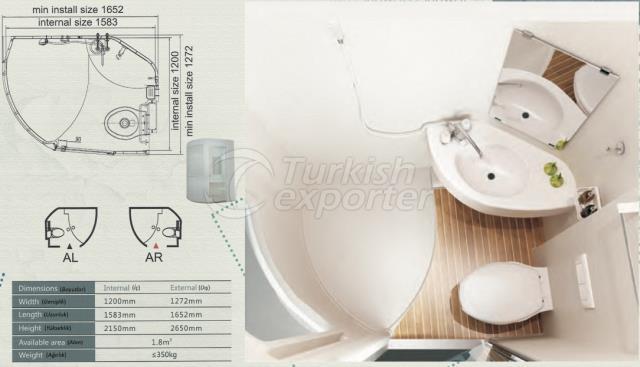 Unit Bathroom BM-1215