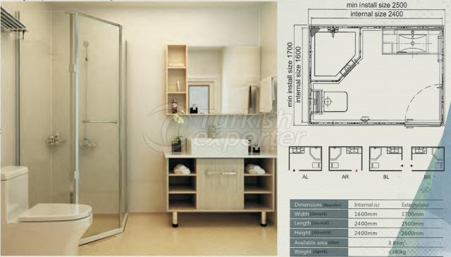 Unit Bathroom BW-1624