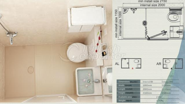 Unit Bathroom BM-1020