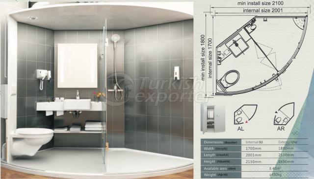 Unit Bathroom BM-1720