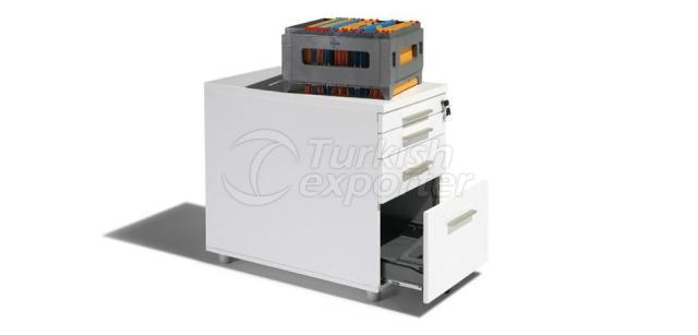 Side Desk Pedestal