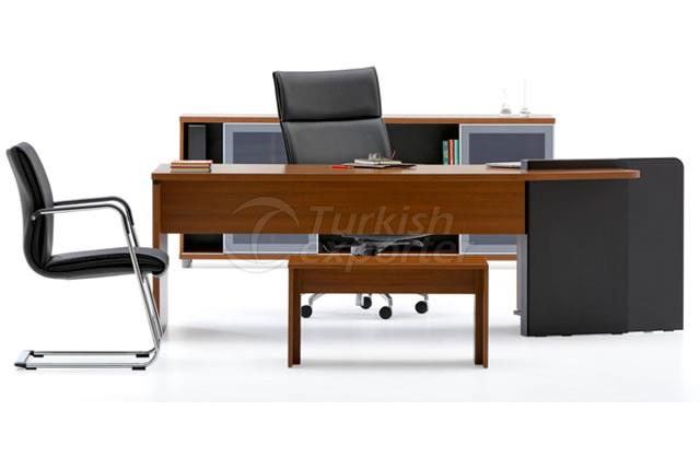 Executive Office Furniture Cross Turn
