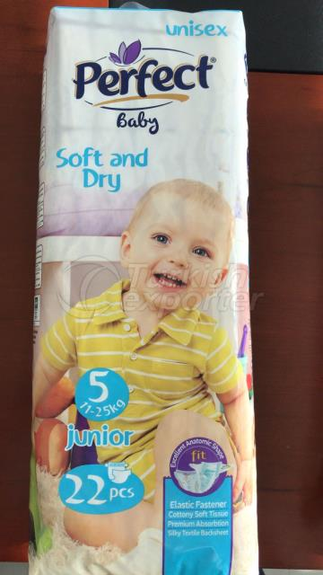 Perfect Baby Diapers Junior Size