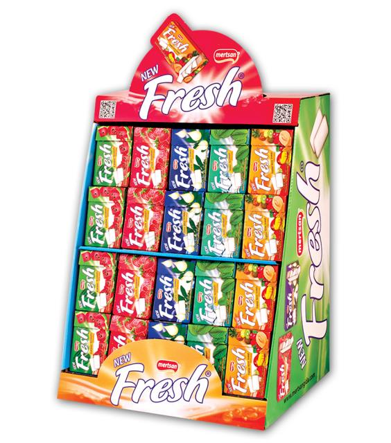 New Fresh Dragee Stand Gum